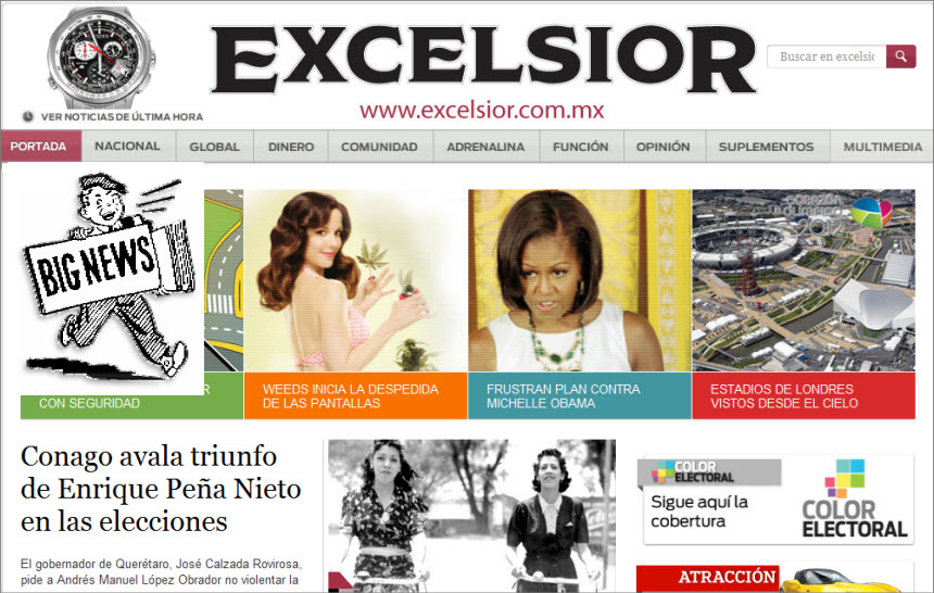 Mexico Latest News for Today - Excelsior