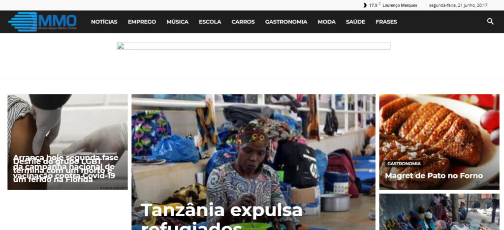 Latest Local and World News in Mozambique - MMO