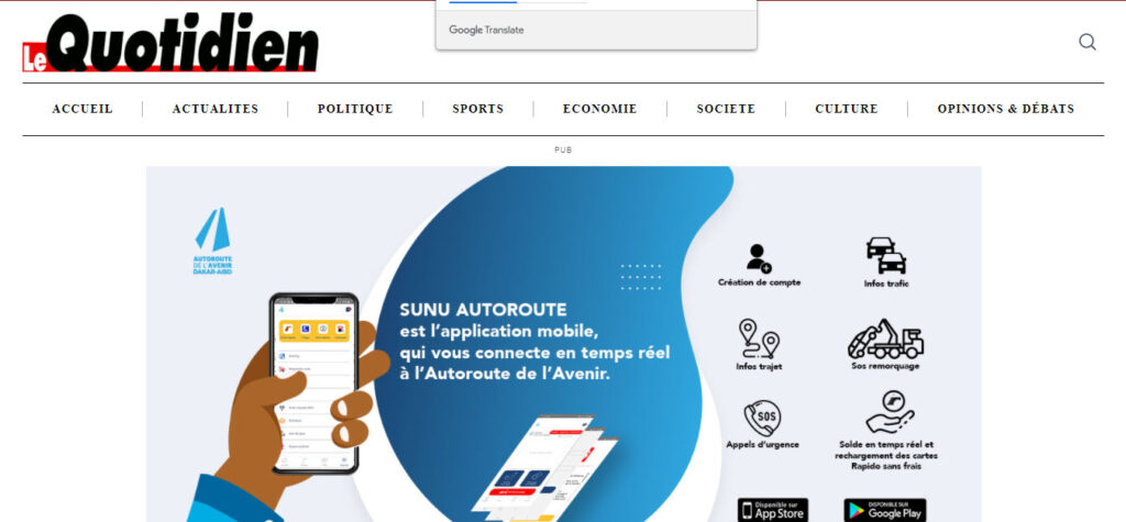 Latest Local and World News in Senegal - Le Quotidien -