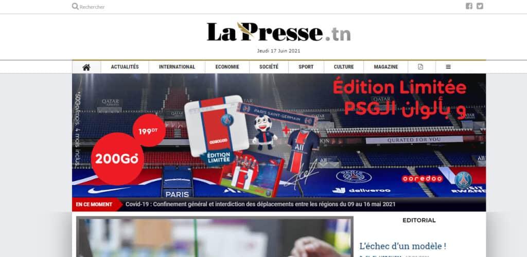 Latest Local and World News in Tunisia - lapresse