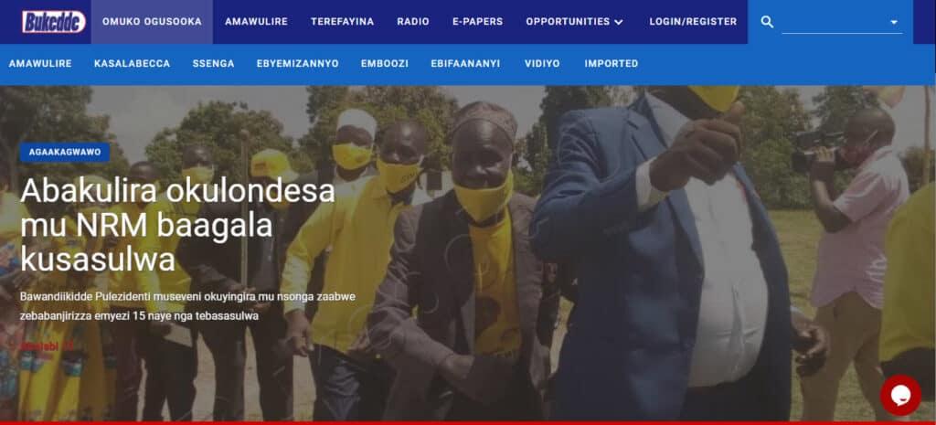 Latest Local and World News in Uganda - Bukedde