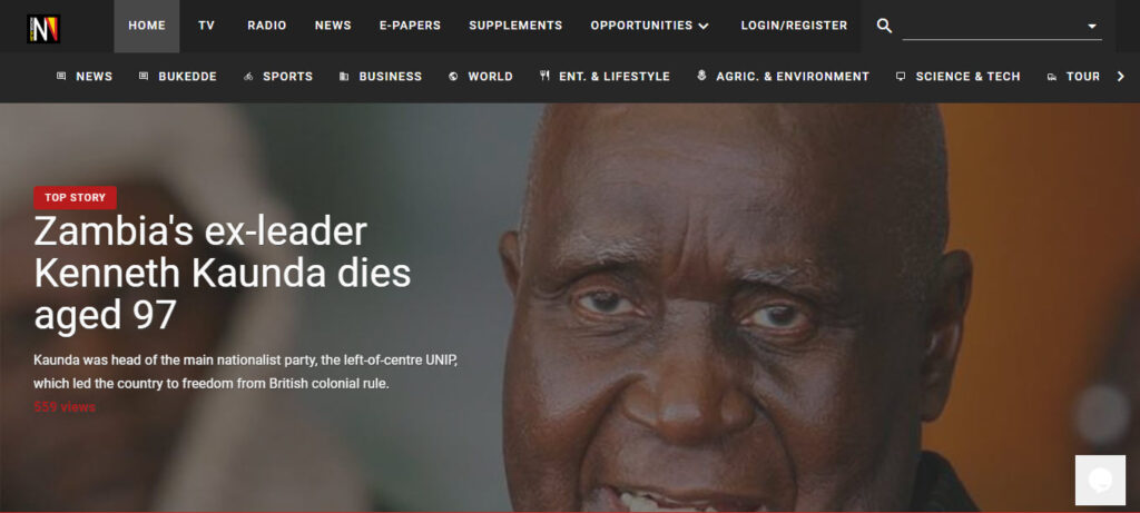 Latest Local and World News in Uganda - New Vision