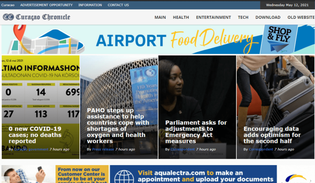 Latest Local and World News in Curacao-Curacao Chronicle