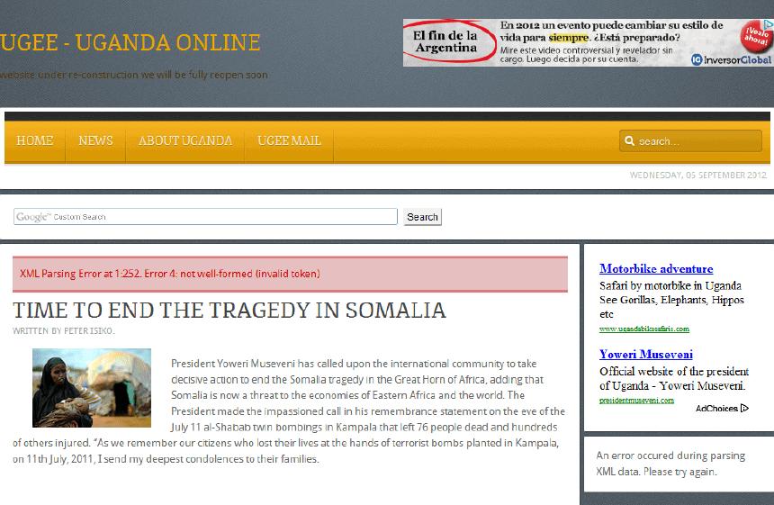 Latest Local and World News in Uganda - Uganda Online