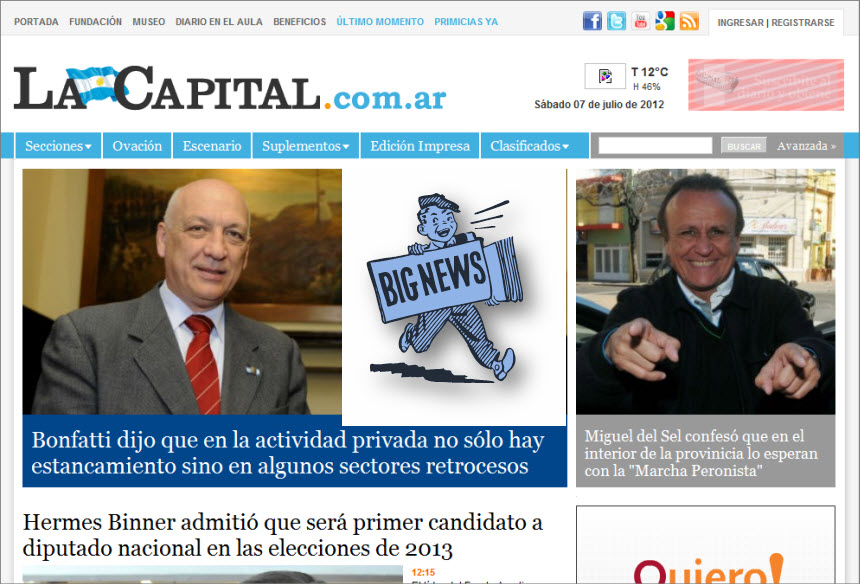 What's the Latest News from Argentina - La Capital