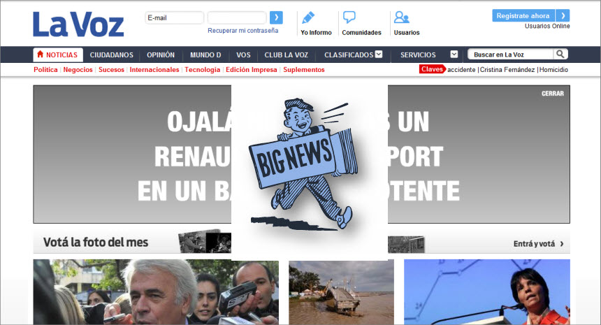 What's the Latest News from Argentina - La Voz