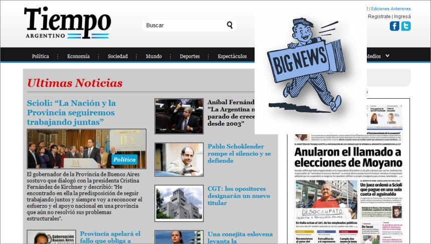 What's the Latest News from Argentina-Tiempo Argentino