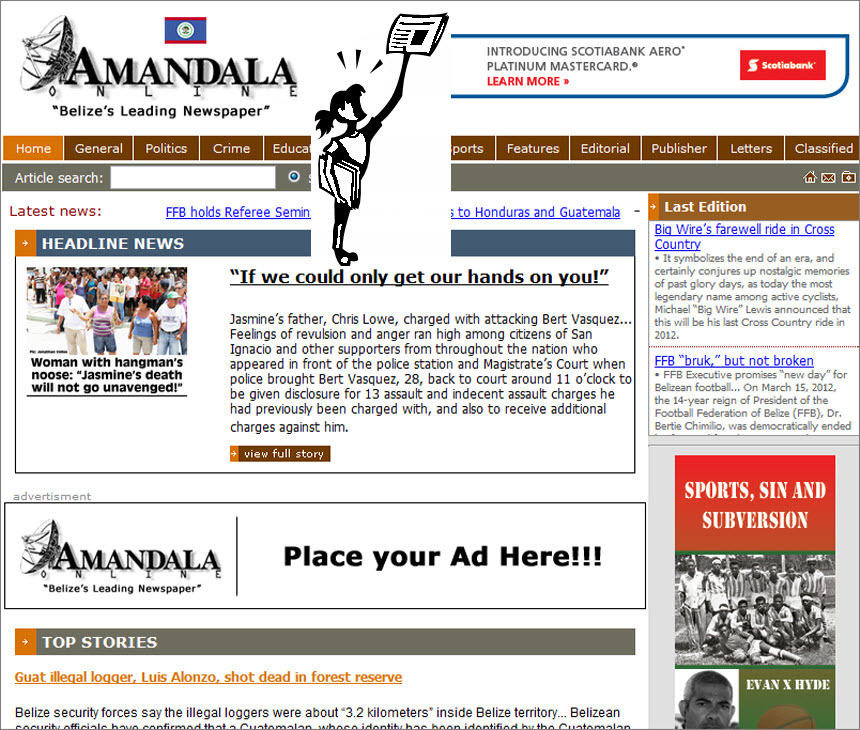 The Latest World and Regional News in Belize - Amandala
