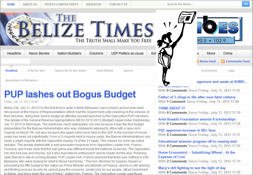 The Latest World and Regional News in Belize - The Belize Times