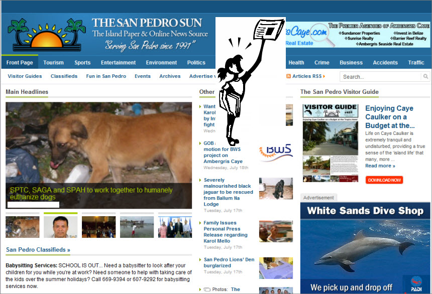 The Latest World and Regional News in Belize - The San Pedro Sun