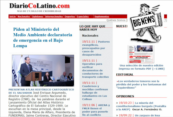The Latest World and Regional News in El Salvador - Diario Co Latino
