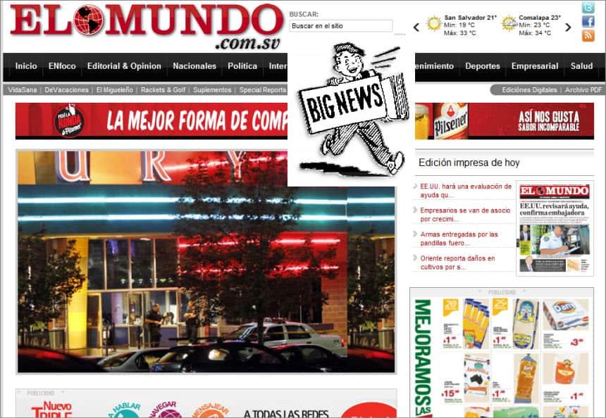 The Latest World and Regional News in El Salvador - El Mundo