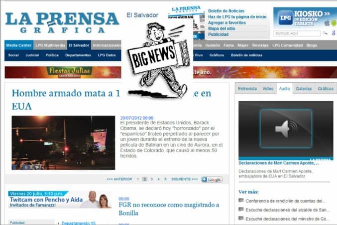 The Latest World and Regional News in El Salvador - La Prensa Gráfica