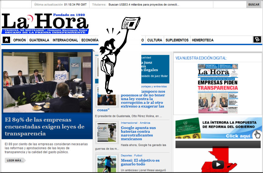 The Latest World and Regional News in Guatemala - La Hora