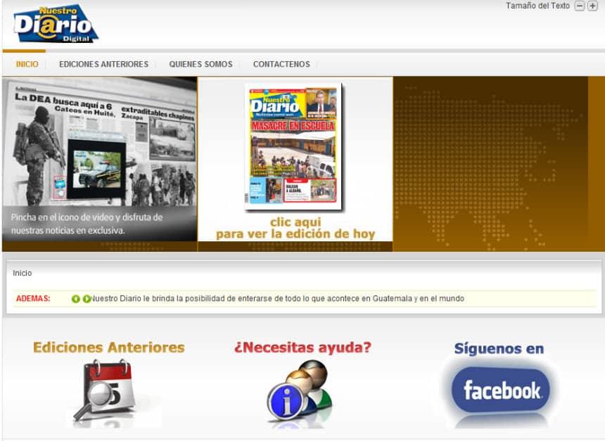 The Latest World and Regional News in Guatemala - Nuestro Diario