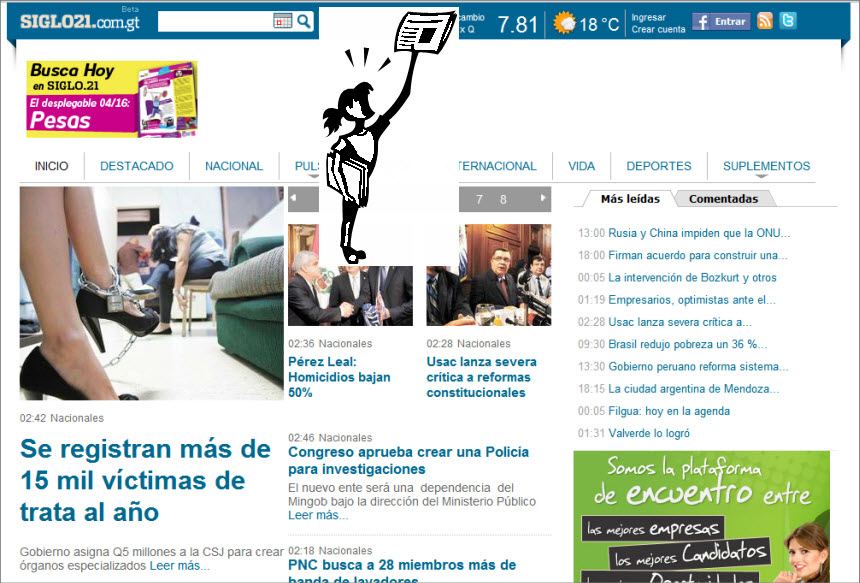The Latest World and Regional News in Guatemala - Siglo Veintiuno