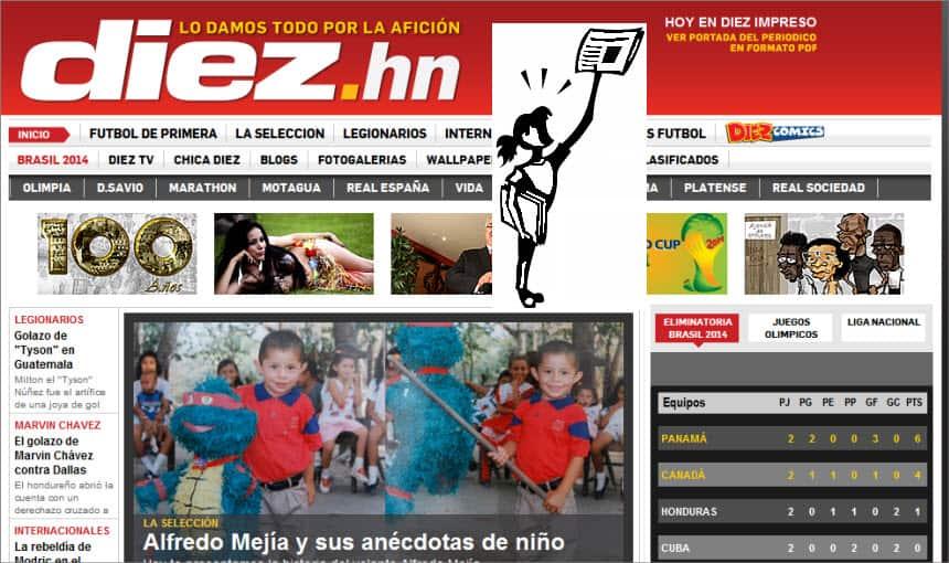 The Latest World and Regional News in Honduras Diez Sports Newspaper