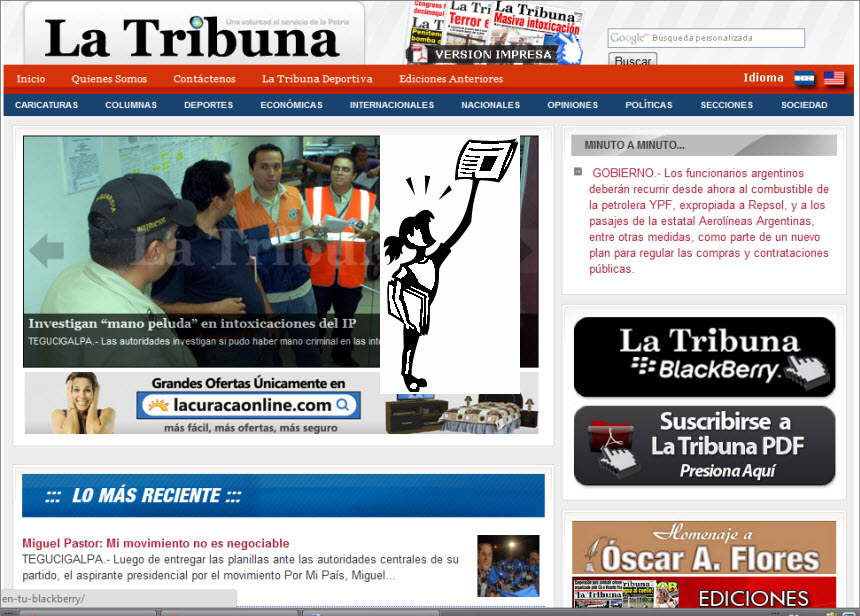 The Latest World and Regional News in Honduras - La Tribuna