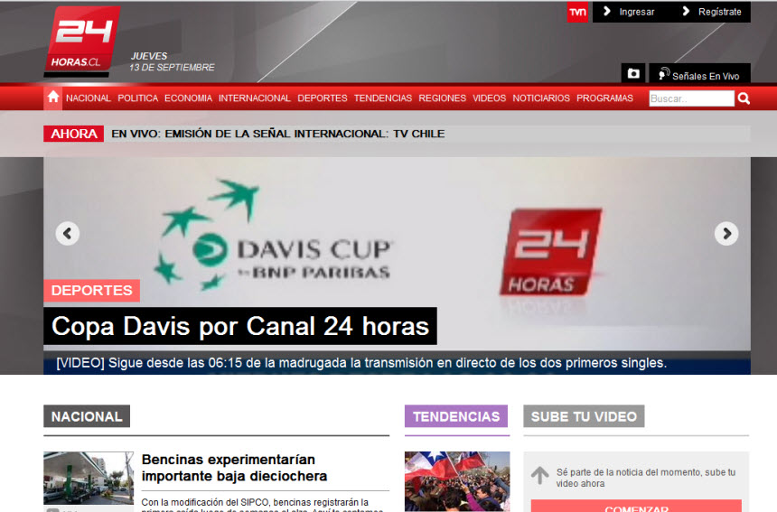 Latest World and National News in Chile