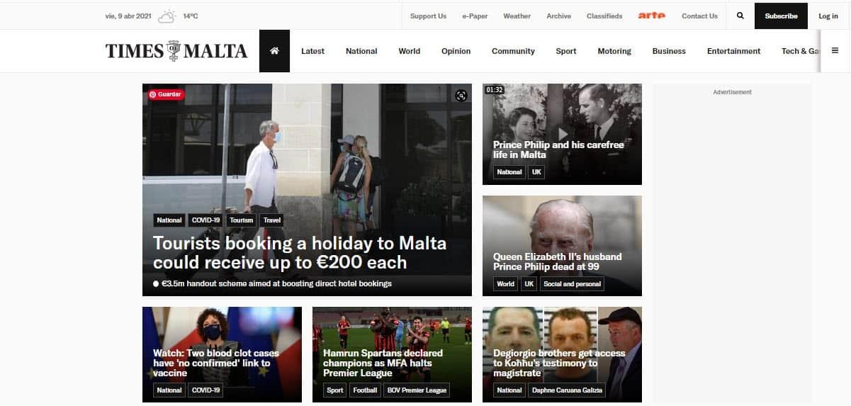 Latest World and Local News in Malta - Newspaper Times of Malta