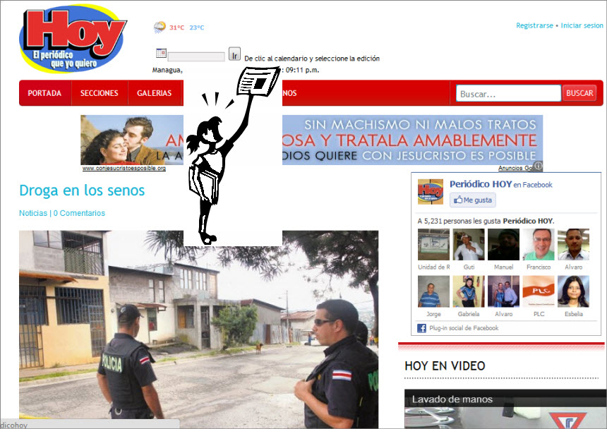 The Latest World and Regional News in Nicaragua - Hoy Newspaper