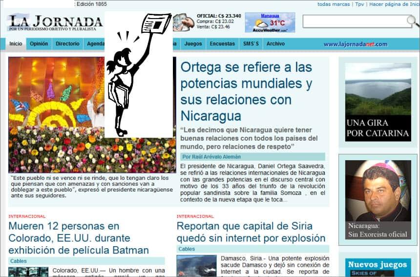 The Latest World and Regional News in Nicaragua - La Jornada