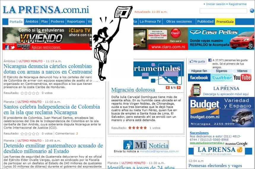 The Latest World and Regional News in Nicaragua - La Prensa