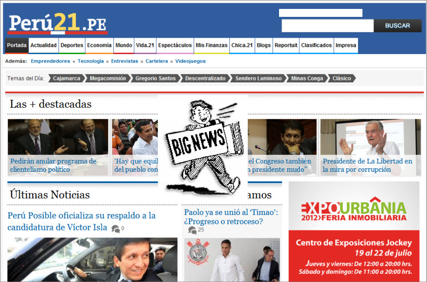 World and National News in Peru - Perú.21