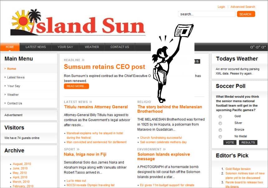 ILatest World and Regional News in Solomon Islands - SLANDS SUN