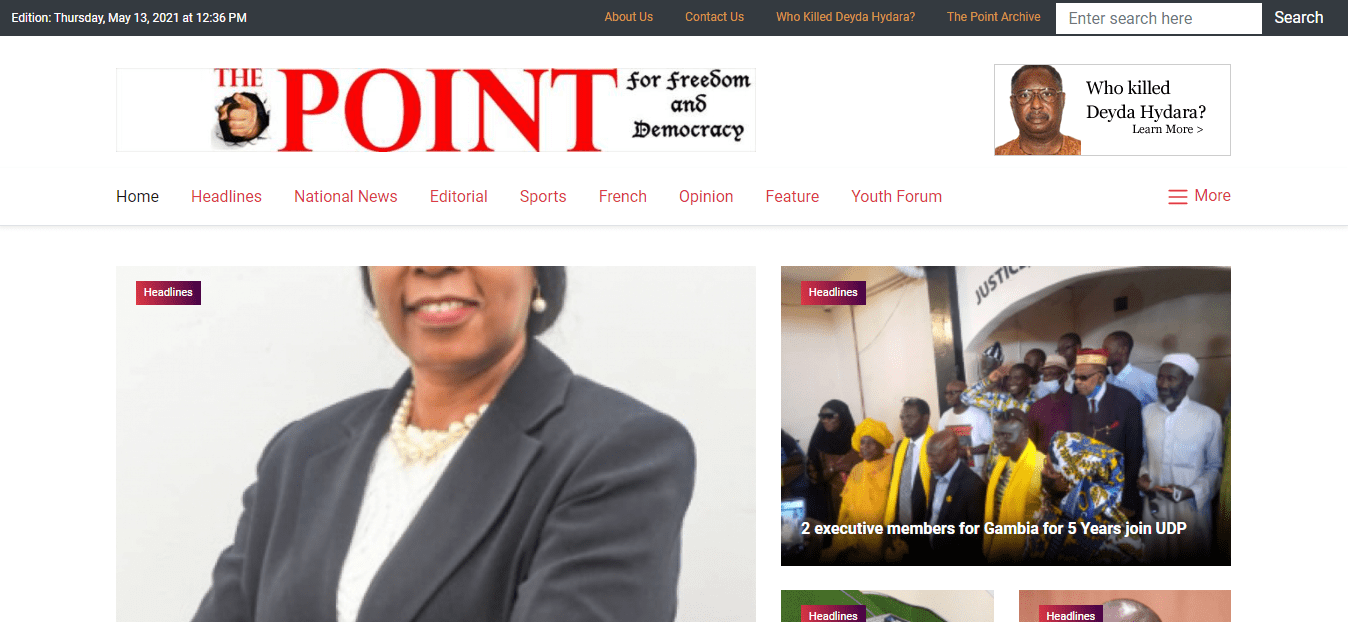 Latest Local and World News in Gambia - The Point