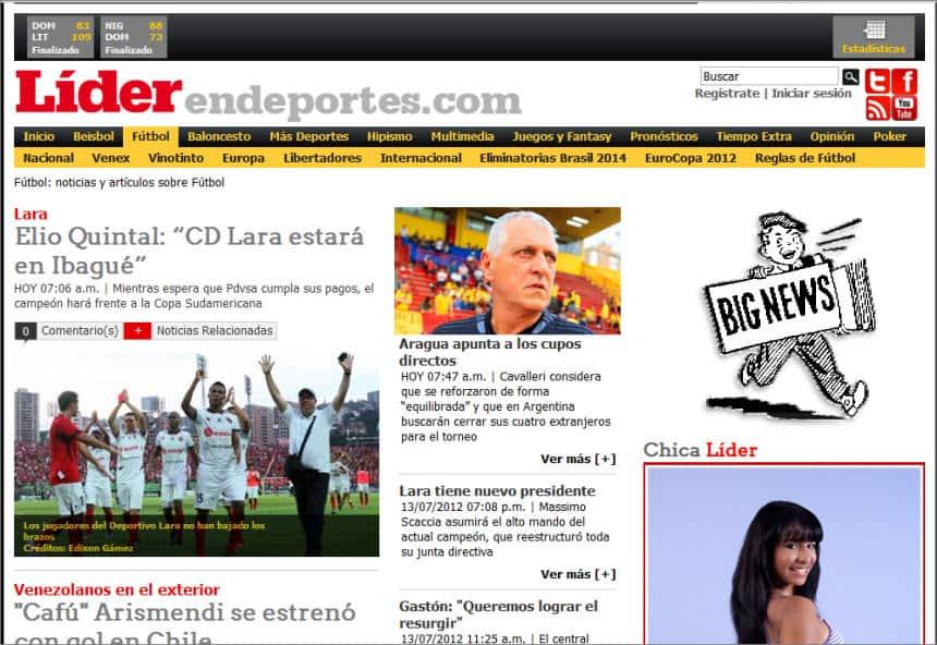 The Latest World and Regional News in Venezuela - Líder